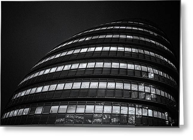 City Hall London Greeting Card by Martin Newman