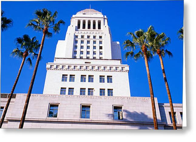 City Hall, Los Angeles, California Greeting Card