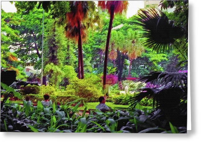 City Jungle 2 Greeting Card by Steve Ohlsen
