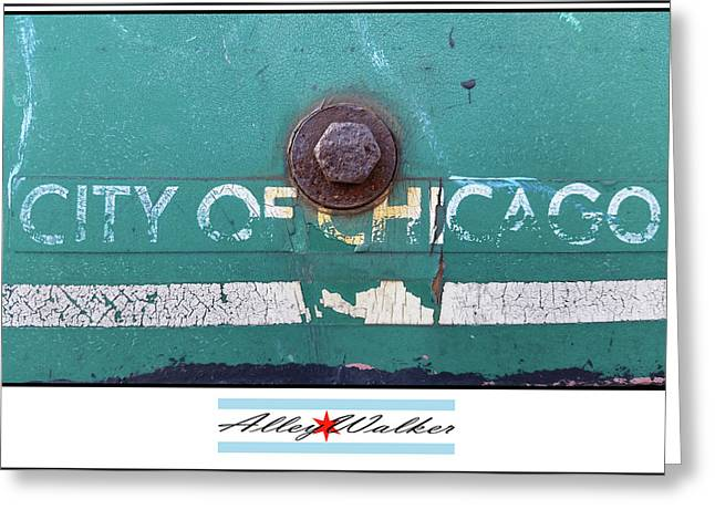 City Of Chi 1 Greeting Card