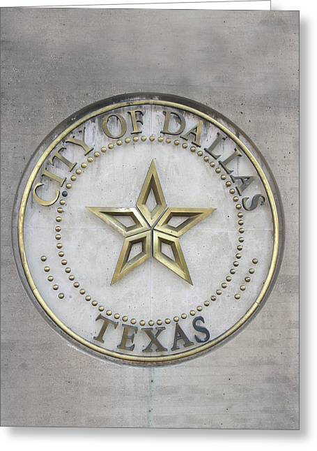 City Of Dallas, Tx Greeting Card by Art Spectrum