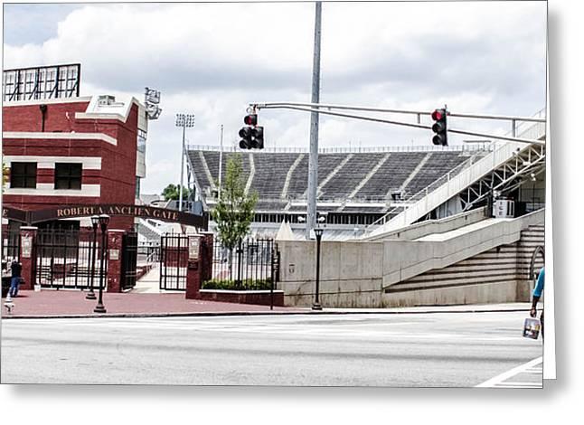 City Stadium Greeting Card