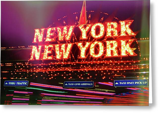 City That Never Sleeps Greeting Card by JAMART Photography