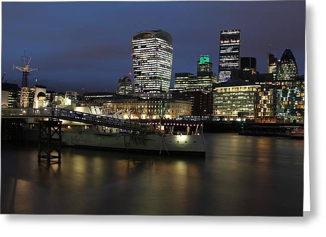 City View Greeting Card by Andrea Guariglia