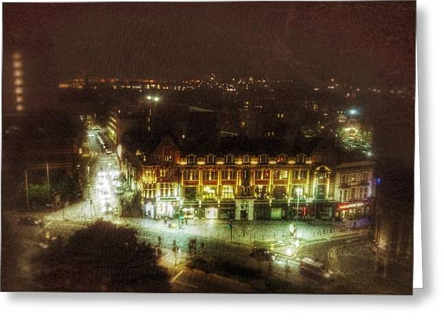Greeting Card featuring the photograph Citylife by Isabella F Abbie Shores FRSA