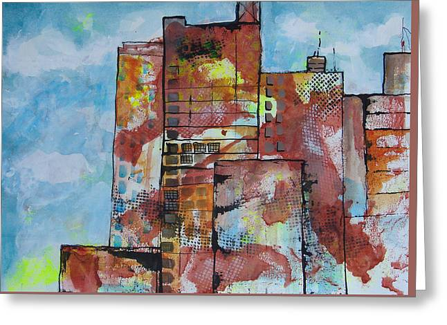 Cityscape 230 Greeting Card