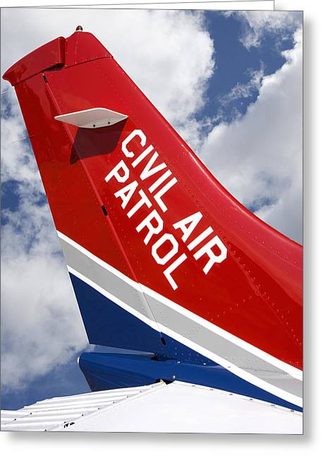 Civil Air Patrol Aircraft Greeting Card