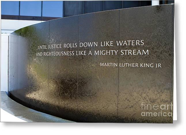 Civil Rights Memorial Greeting Card