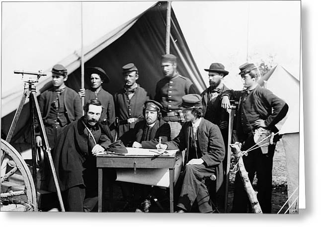 Civil War: Engineers, 1862 Greeting Card by Granger