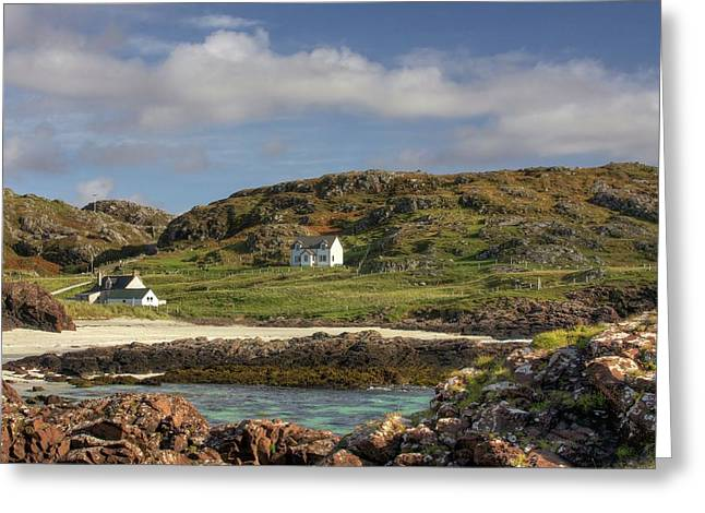 Clachtoll Beach Greeting Card