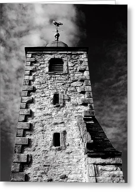 Clackmannan Tollbooth Tower Greeting Card by Jeremy Lavender Photography