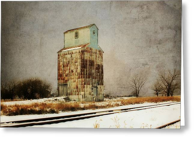 Clare Elevator Greeting Card by Julie Hamilton