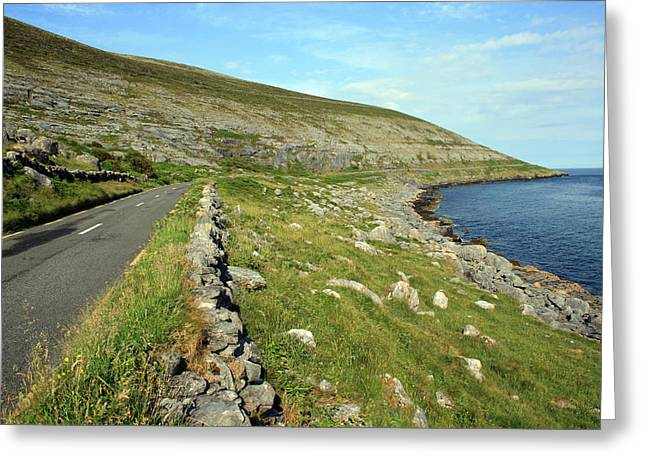 Clare Road Greeting Card by John Quinn