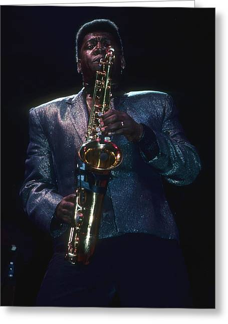 Clarence Clemons Greeting Card
