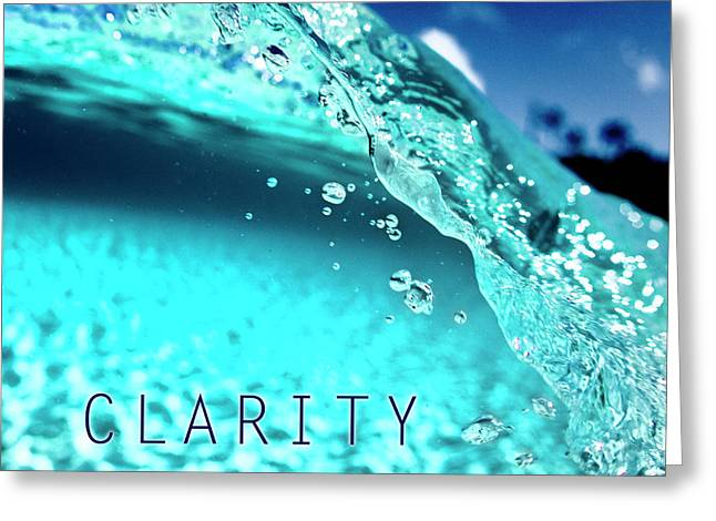 Clarity Greeting Card