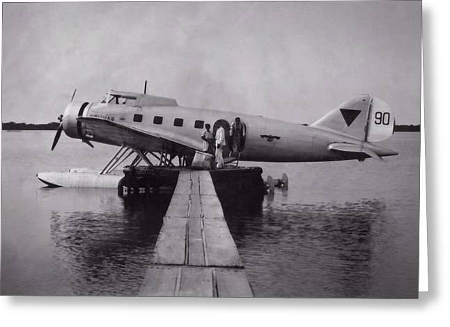 Clark Ga-43 Greeting Card