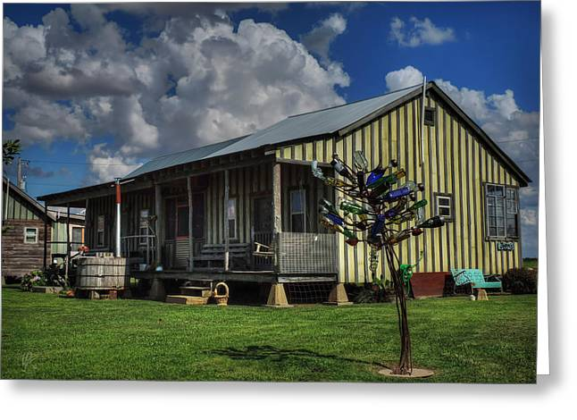 Clarksdale - Shack Up Inn 003 Greeting Card by Lance Vaughn