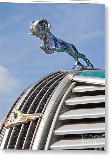 Classic 1937 Dodge Automobile Greeting Card