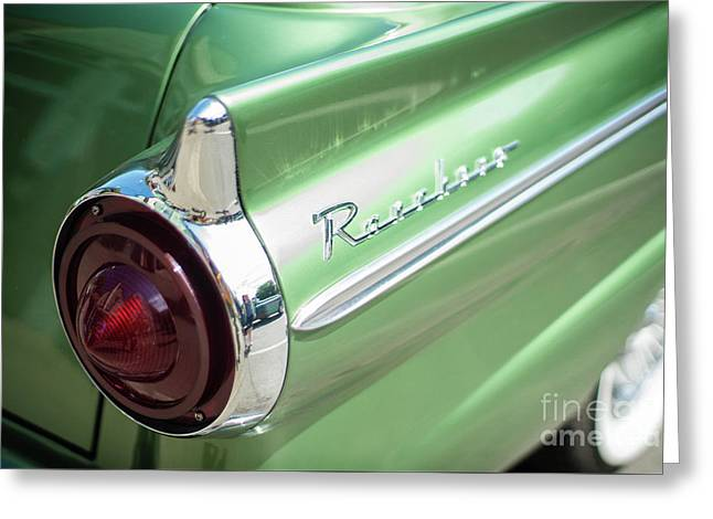 Classic 50s Ford Ranchero Greeting Card