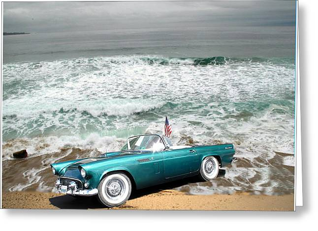 Classic Beauty At Asilomar Greeting Card by Joyce Dickens