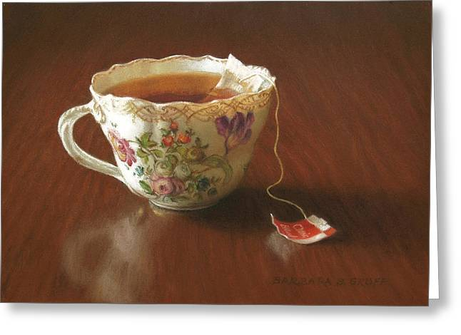 Classic Blend Greeting Card by Barbara Groff