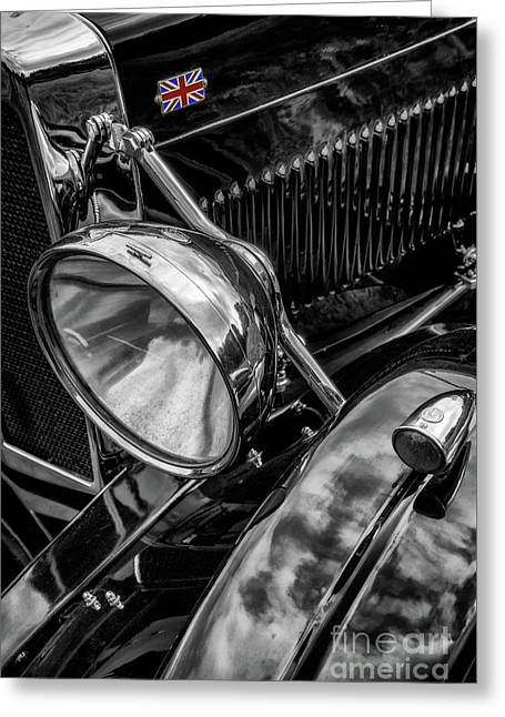 Greeting Card featuring the photograph Classic Britsh Mg by Adrian Evans