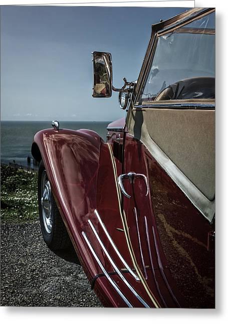 Classic Car Greeting Card by Joana Kruse