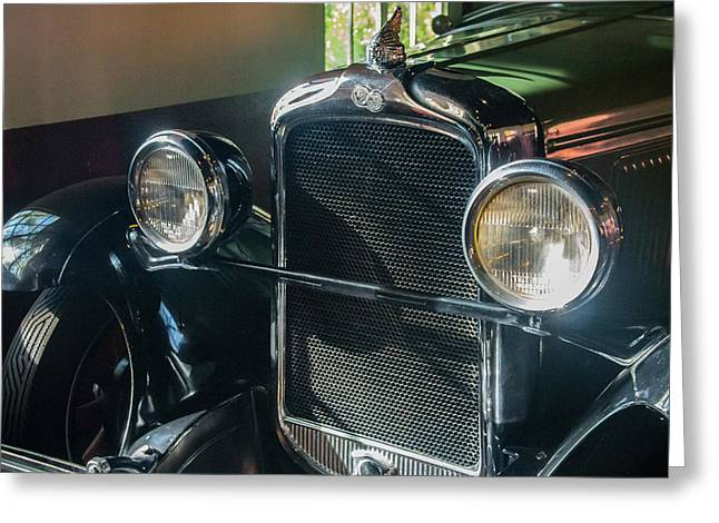 Greeting Card featuring the photograph Classic Car Museum, Asheville, Nc by Richard Goldman