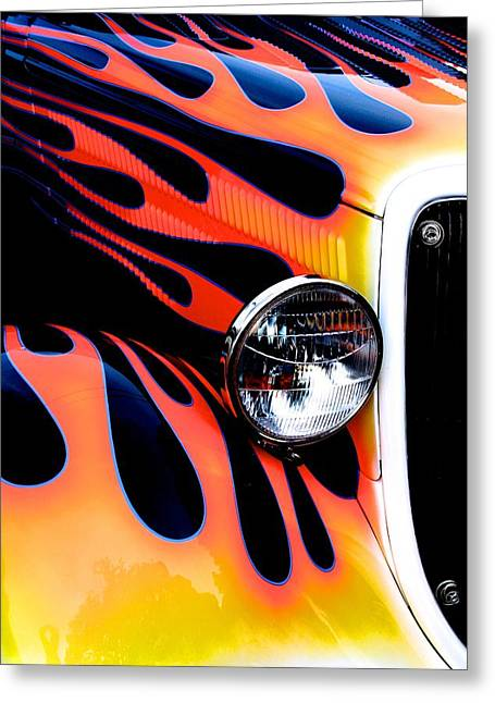 Classic Car Paint Upgrade Greeting Card