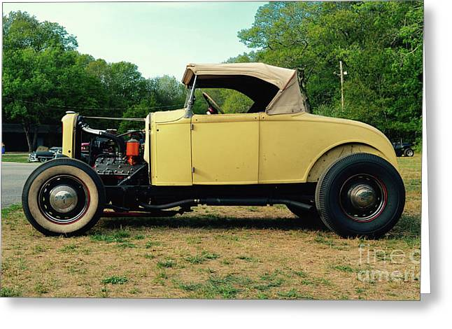 Classic Cars - 1929 Ford Roadster Hot Rod Greeting Card by Jason Freedman