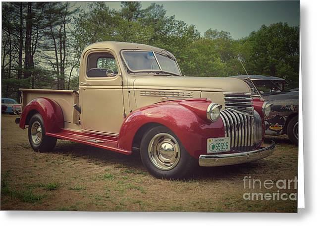 Classic Cars - 1942 Chevy Half-ton Pickup Greeting Card by Jason Freedman