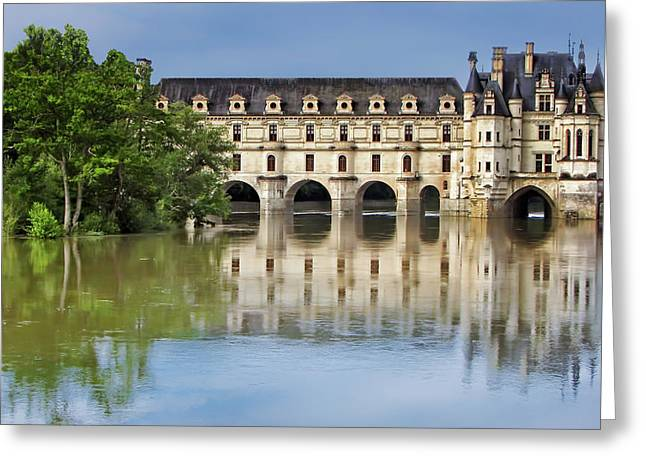 Classic Chenonceau Greeting Card