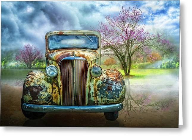 Classic Chevy Pickup 1937 Greeting Card