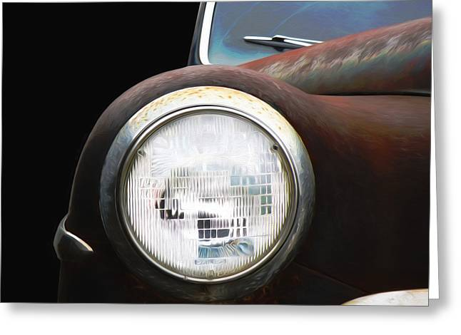 Classic Dodge Car Greeting Card by Steven Michael