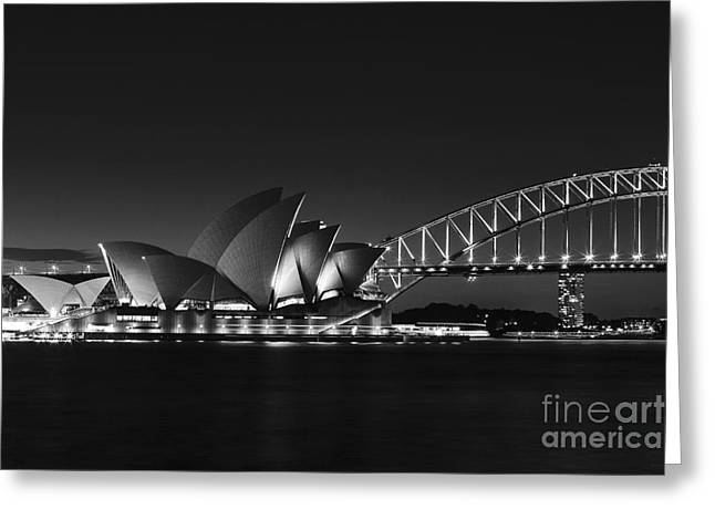 Classic Elegance In Bw Greeting Card
