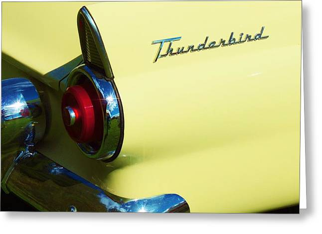 1955 Ford Thunderbird Greeting Card