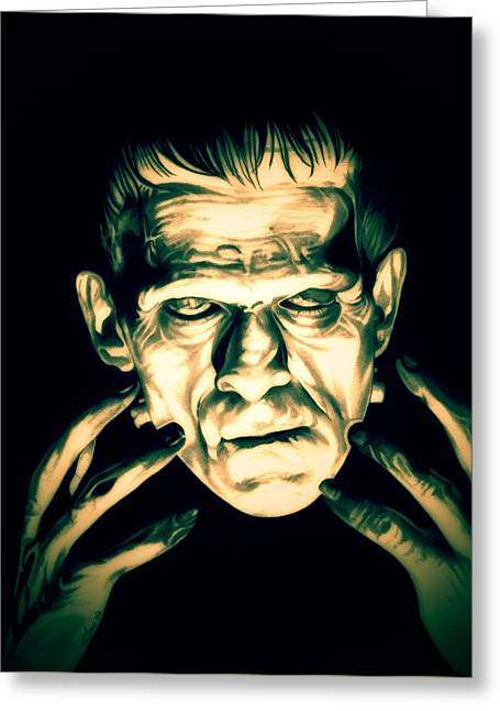 Classic Frankenstein Greeting Card