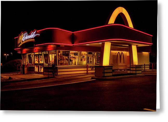 Classic Golden Arches Greeting Card