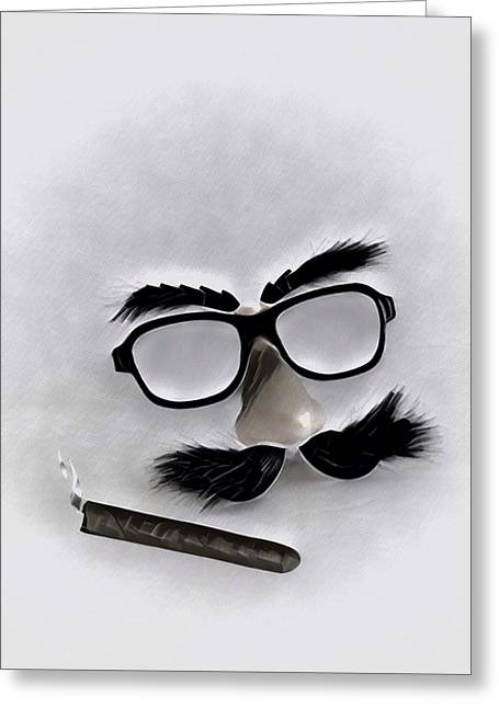 Classic Groucho Greeting Card