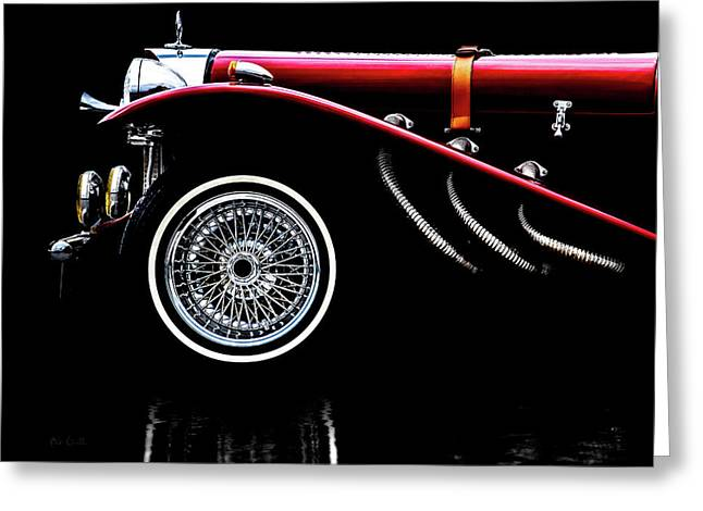 Classic Mercedes Benz Ssk Greeting Card by Bob Orsillo
