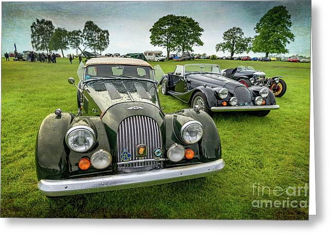 Classic Morgans Greeting Card by Adrian Evans