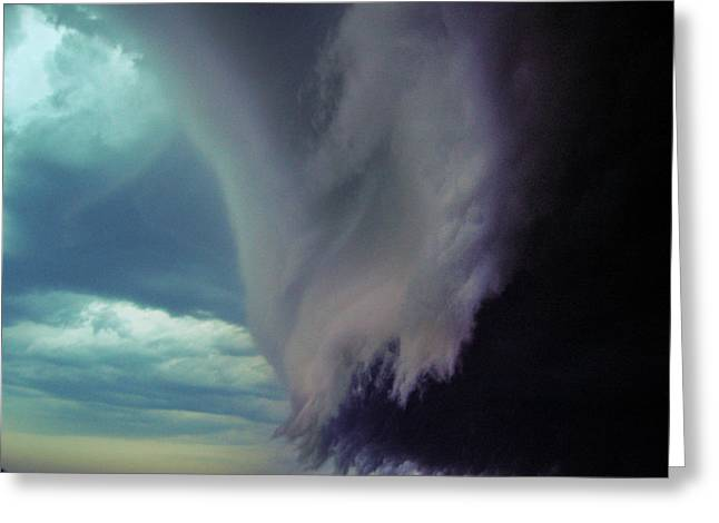 Classic Nebraska Shelf Cloud 029 Greeting Card