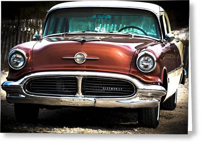 Classic Oldsmobile 2 Greeting Card