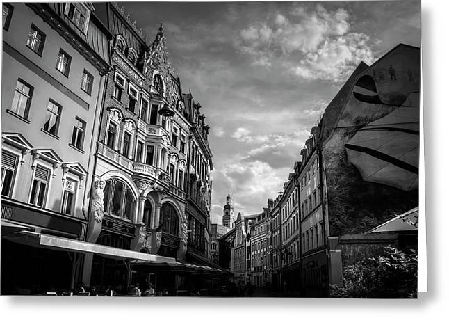 Classic Riga  Greeting Card by Carol Japp