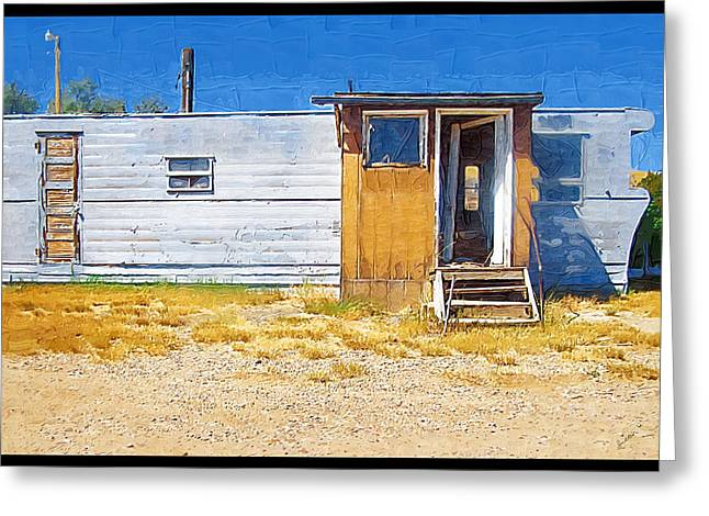 Greeting Card featuring the photograph Classic Trailer by Susan Kinney