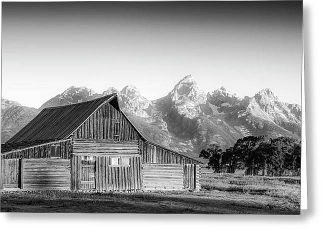 Classic Wyoming Greeting Card by Peter Irwindale