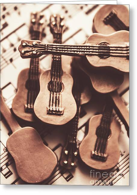 Classical Music Recording Greeting Card by Jorgo Photography - Wall Art Gallery