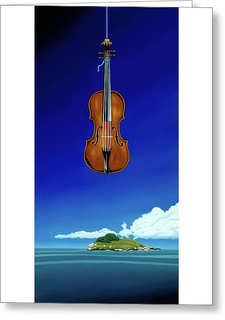 Classical Seascape Greeting Card
