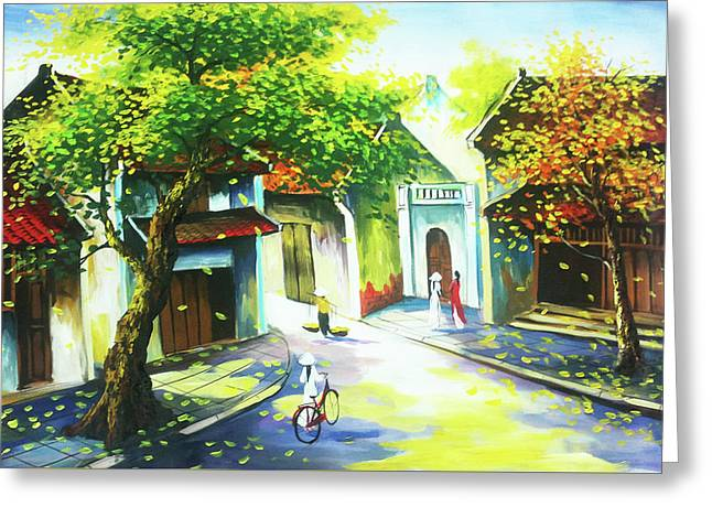 Classical Style Art Greeting Card
