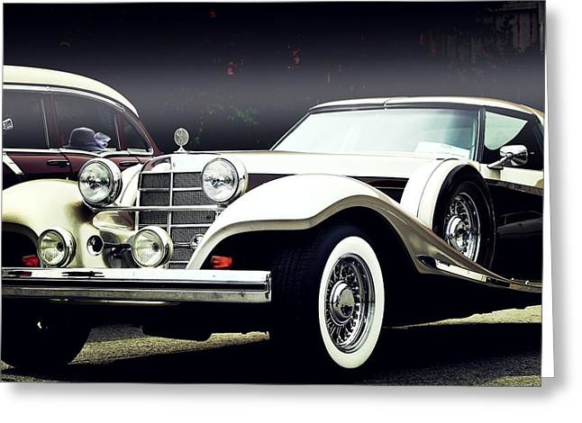 Greeting Card featuring the photograph Classy... by Al Fritz
